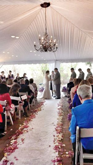 Mill house inn wedding dress