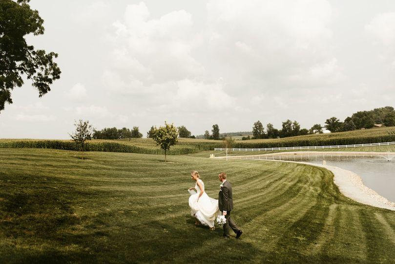 J Weaver Barn wedding