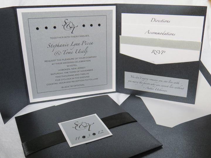 Tmx 1358198526627 IMG0065 Roseland wedding invitation