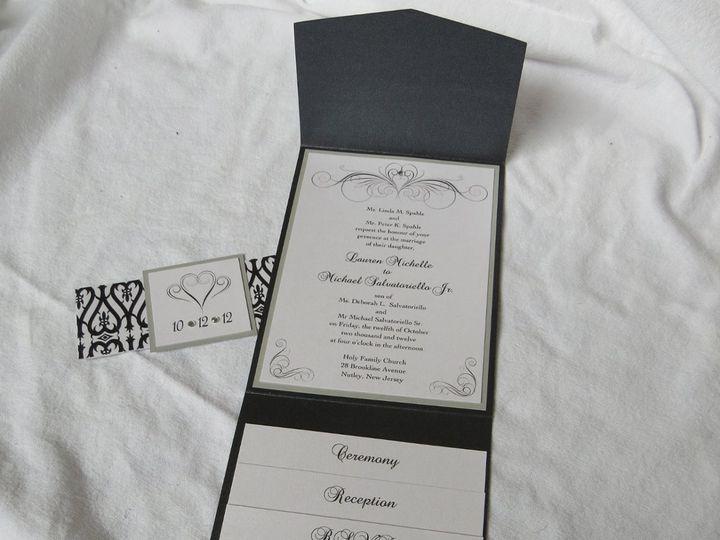 Tmx 1358198592369 IMG0068 Roseland wedding invitation
