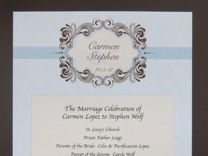 Tmx 1358198760077 IMG0047 Roseland wedding invitation