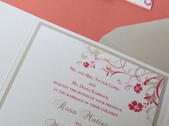 Tmx 1358198889730 IMG0077 Roseland wedding invitation