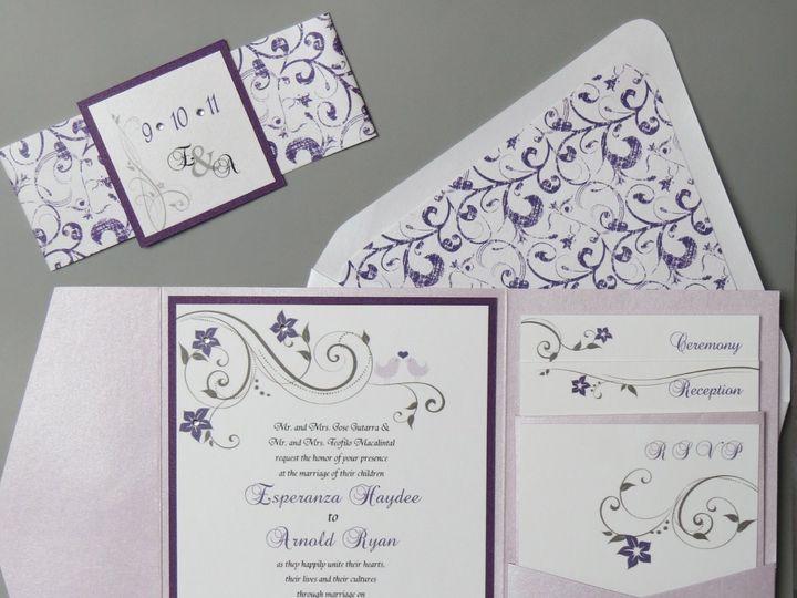 Tmx 1358198957728 IMG0081 Roseland wedding invitation