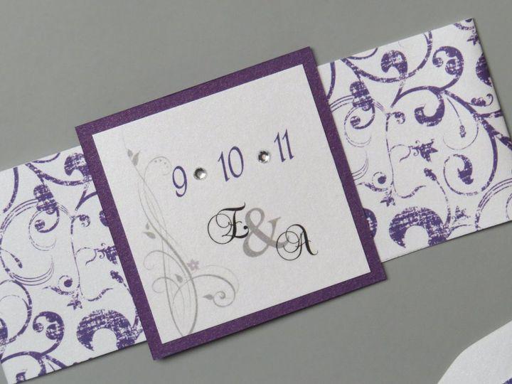 Tmx 1358198979116 IMG0082 Roseland wedding invitation