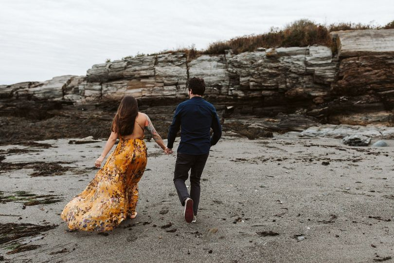 Kettle Cove engagement