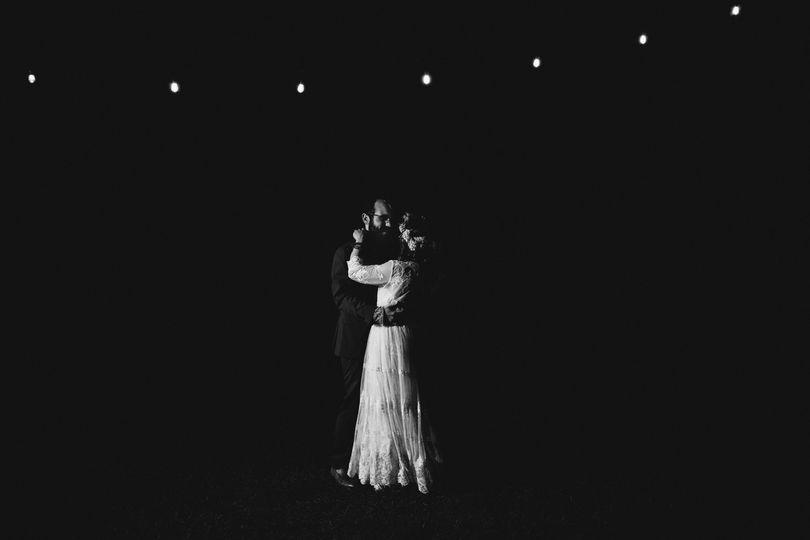 Woodsy Maine wedding