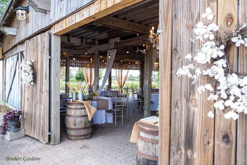 Open Barn Reception