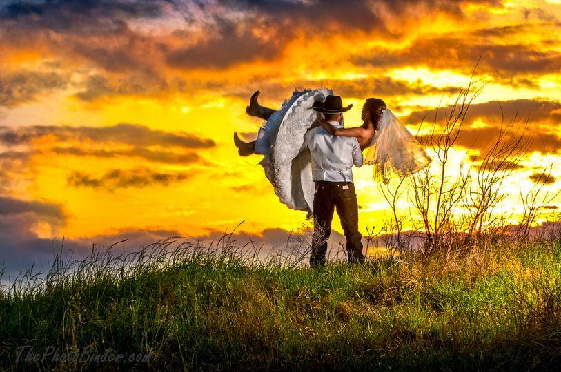 Berm Couple at Sunset