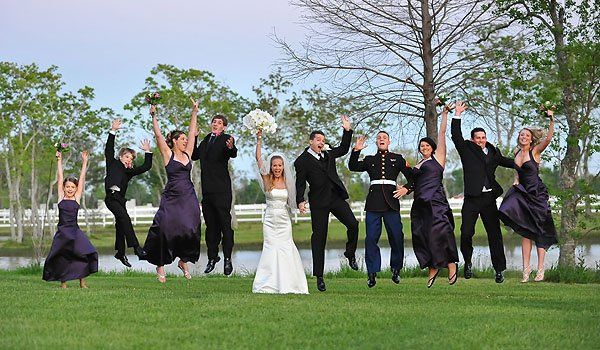 Capturing the excitement of every wedding is Jim Richard's primary goal.