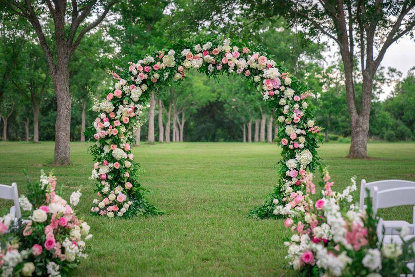 Elegant floral decor