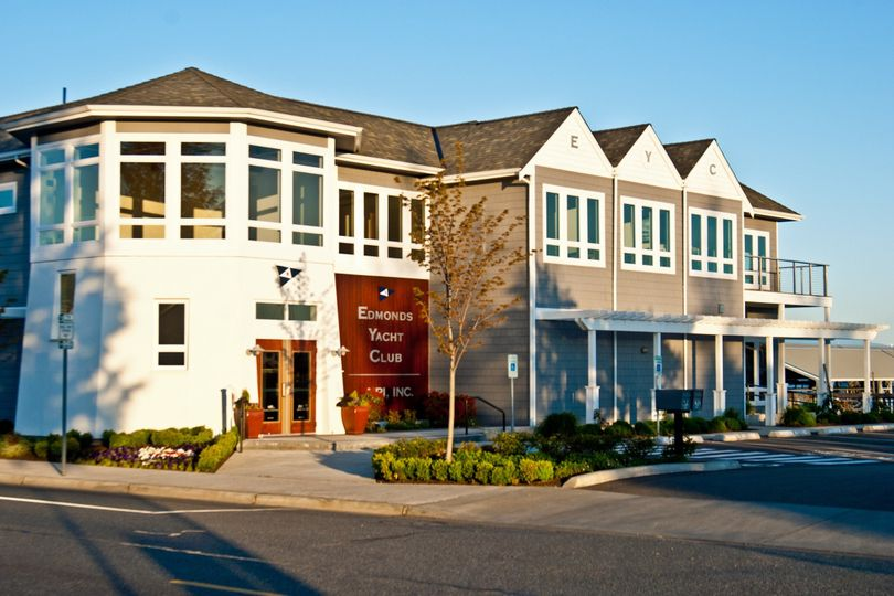 Exterior view of 	Edmonds Yacht Club