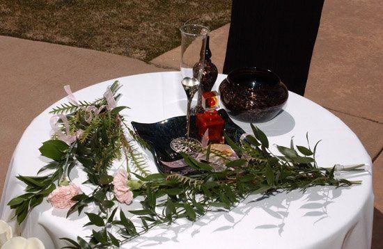 An altar is a physical external sign of a conscious internal intention.