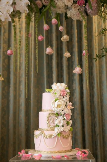 Custom Cake and Backdrop