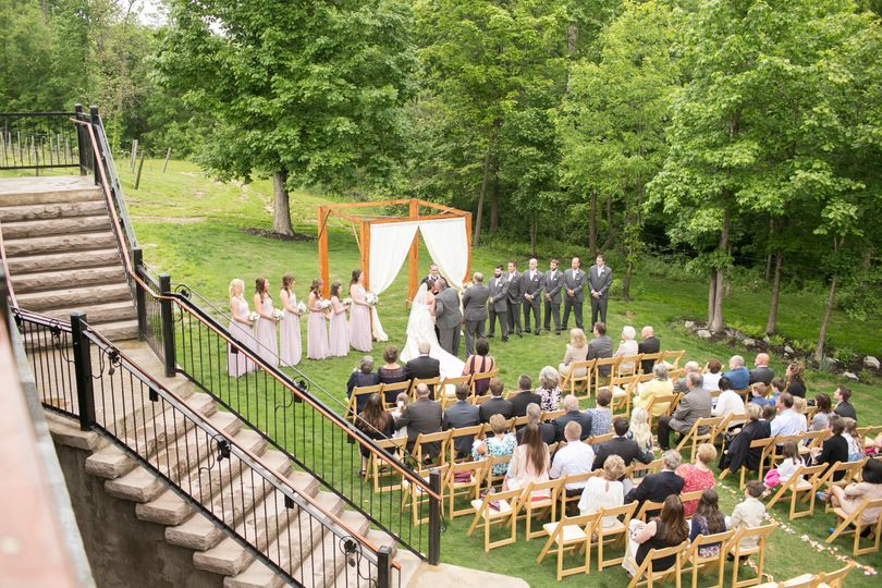 Romantic and rustic reception /ceremony site for up to 300 in central va. Indoor / outdoor space...