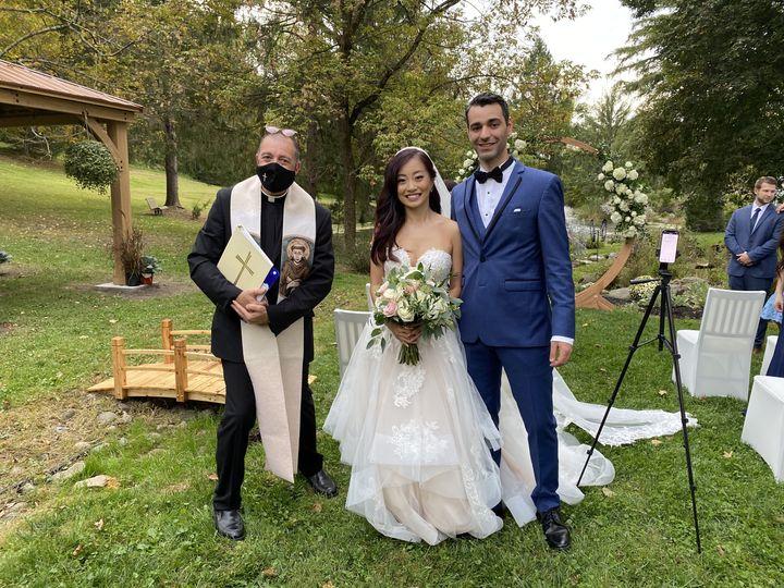 Tmx Pandemic Wedding Angel Rick 51 779894 160130090049810 Cliffside Park wedding officiant