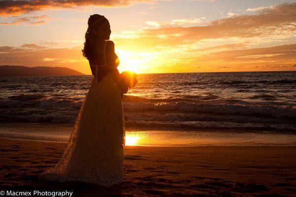 The amazing Vallarta sunset