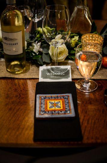 Wine and glassess