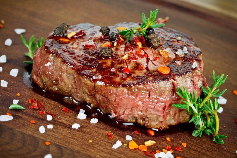 bigstock steak with thyme 83199356