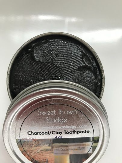 Charcoal Clay Toothpaste