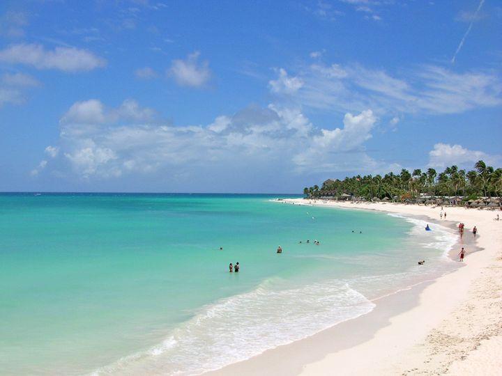 Tmx 1419288553408 Aruba Beach Wallington wedding travel