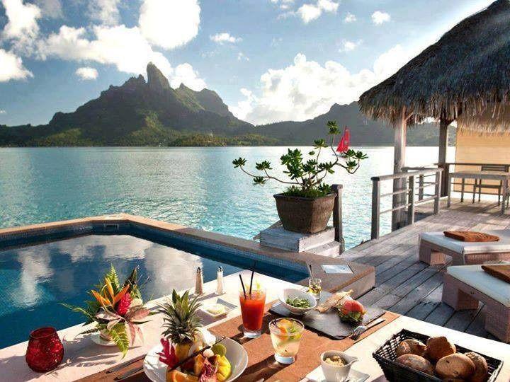Tmx 1419288602145 Morning In Bora Bora Wallington wedding travel