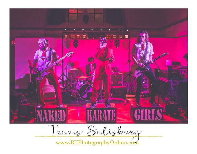 The Naked Karate Girls
