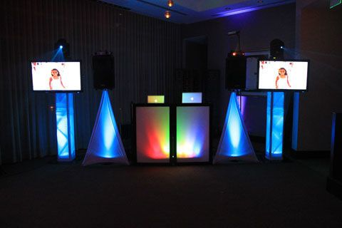 DJ Reece provides uplighting services to give more ambience to your event setting.