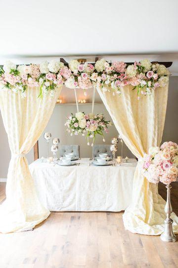 Bridal bouquet, bridesmaids bouquet, boutonniere