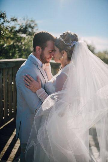 Wedding Couple Patio