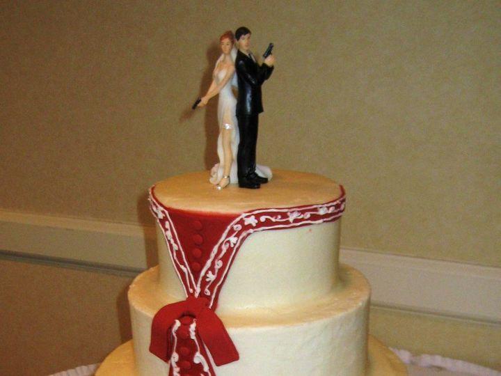 Tmx 1352126633646 IMG1485 Glenmoore wedding cake