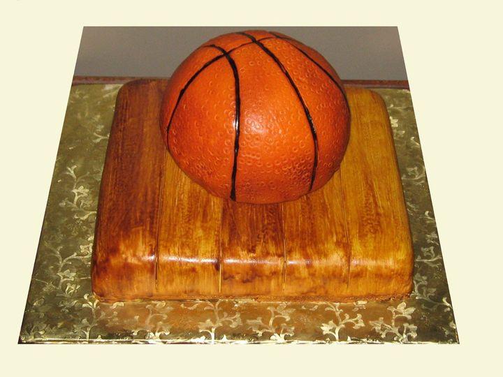 Tmx 1352126995765 Basketball1 Glenmoore wedding cake