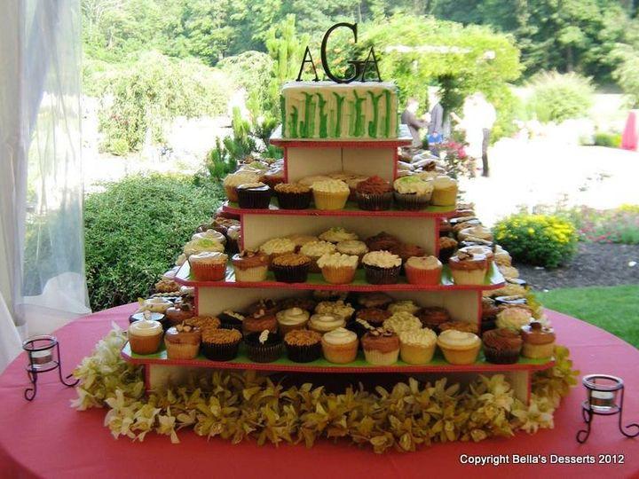 Tmx 1352127129712 Grasscupcakes Glenmoore wedding cake