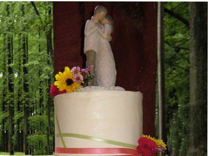 Tmx 1443115473144 Ribbon Cake Glenmoore wedding cake