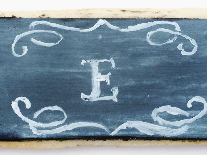 Tmx 1454674745990 Wedding Favor Chalkboard Glenmoore wedding cake