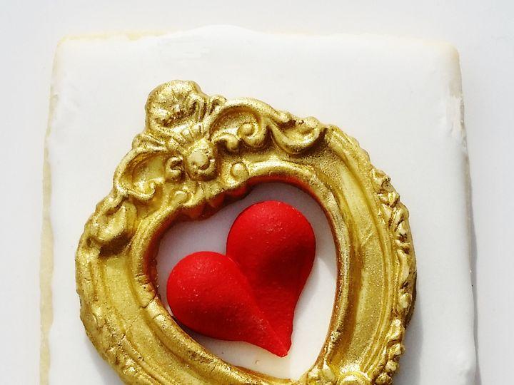 Tmx 1454674912851 Framed Heart Glenmoore wedding cake