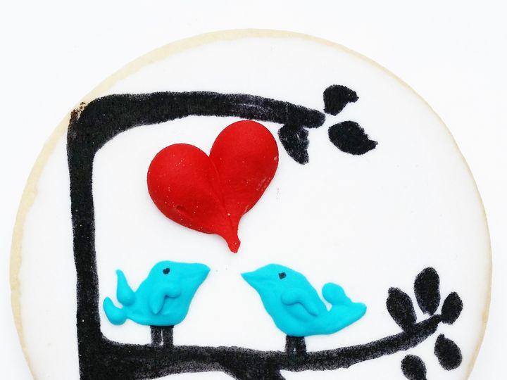Tmx 1454675086757 Tree Birds Glenmoore wedding cake