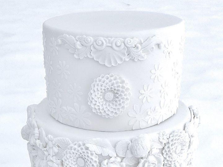 Tmx 1490198244214 Bas Relief Wedding Cake Glenmoore wedding cake