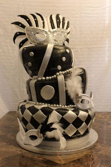 Masquerade Cake in Denver
