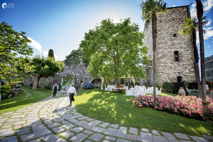 Summer at castello di rossino