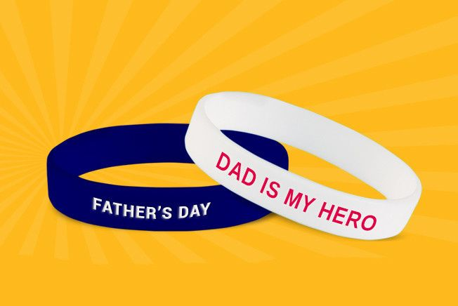 father day wristbands