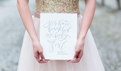 Storied Script Calligraphy