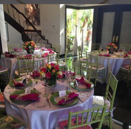 dining room green