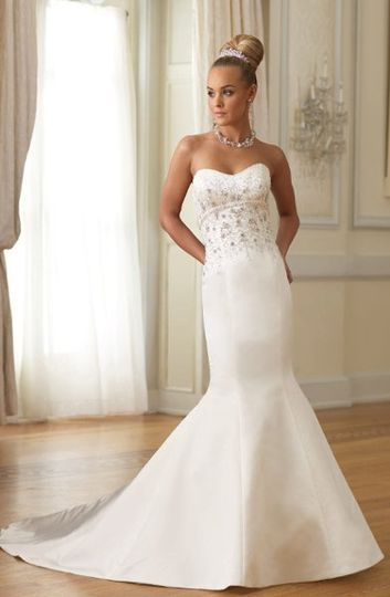 "Sheer's ""Arleen"" wedding dress"