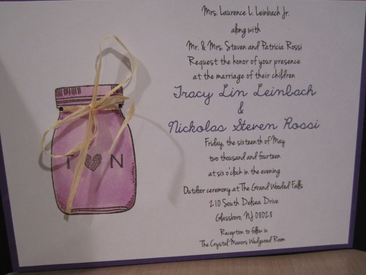Tmx 1392993762317 00 Trenton wedding invitation