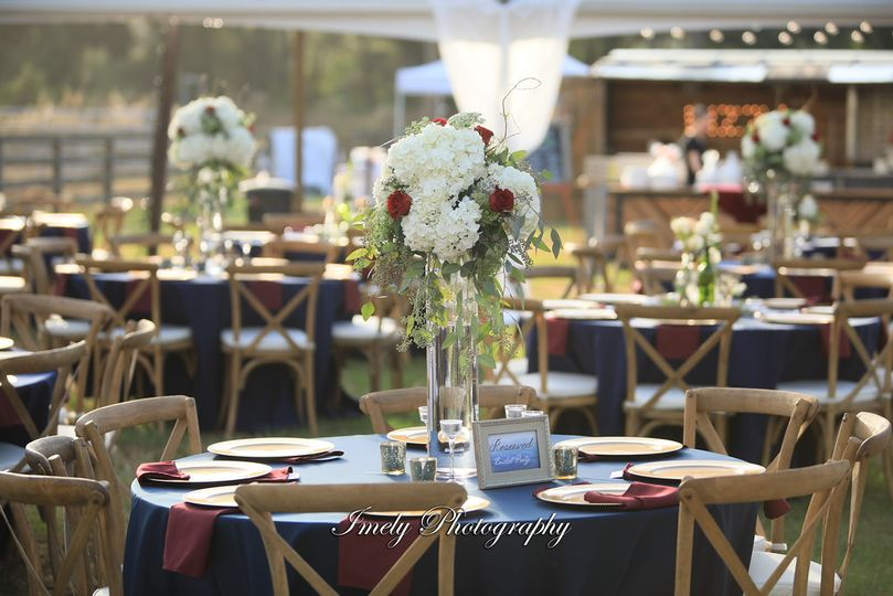 Farm chairs and tables