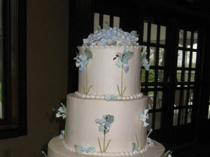 Tmx 1534278261 2b1f20f74530bcd8 1534278260 1da98ed614862431 1534278260103 1 Wedding Cake Blue  Glastonbury, CT wedding cake