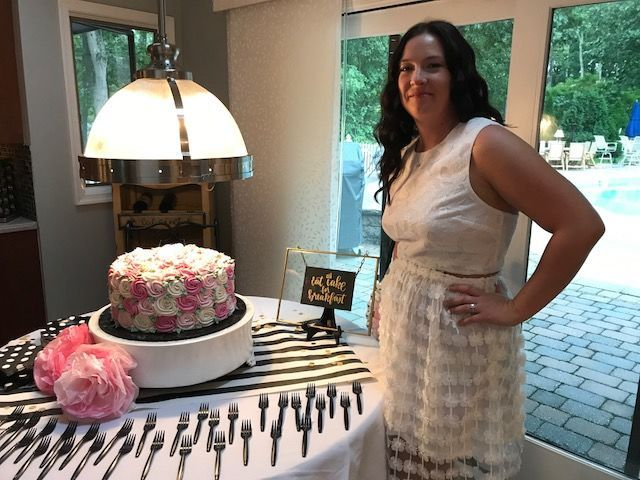Tmx 1534540295 135a0abada9b41f3 1534540294 40319fb2cd63d59c 1534540294882 1 Laurens Shower Glastonbury, CT wedding cake