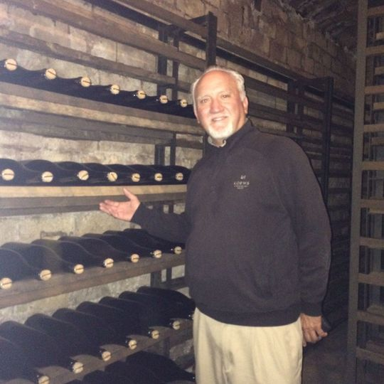 John in Spain on a Wine Trip