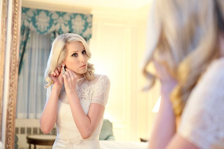 Final touches before the ceremony - A Day of Bliss Photography