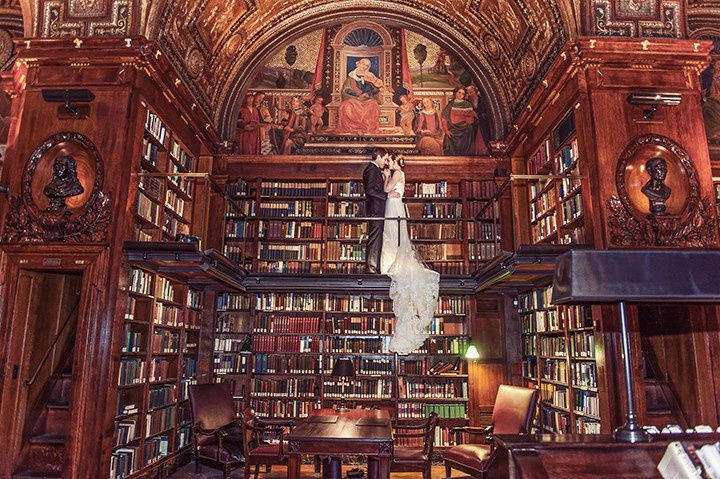 Library lovers photoshoot - A Day of Bliss Photography